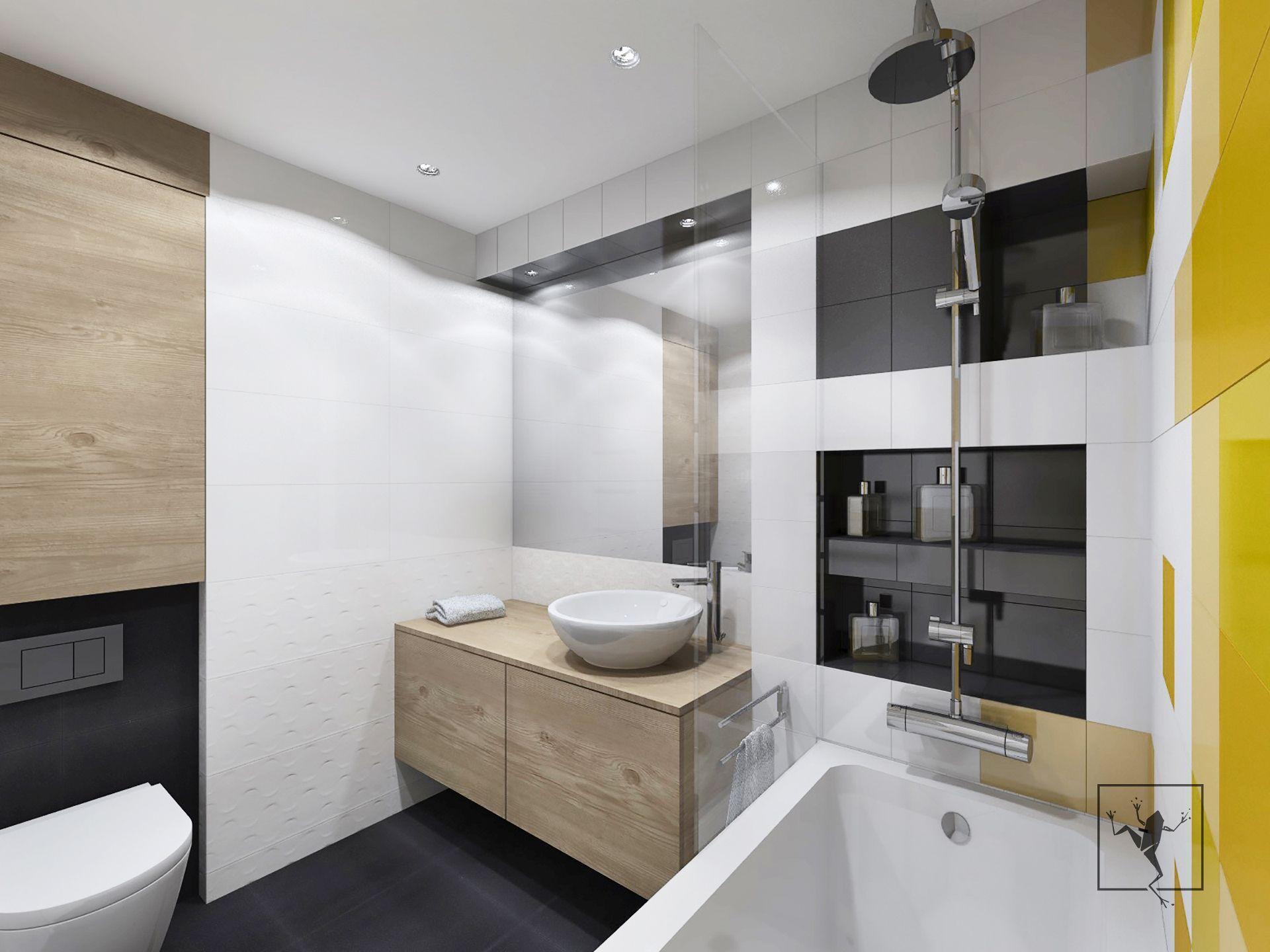 Projekt wn trza mieszkania kielce w43 frog studio kielce for Frog studio