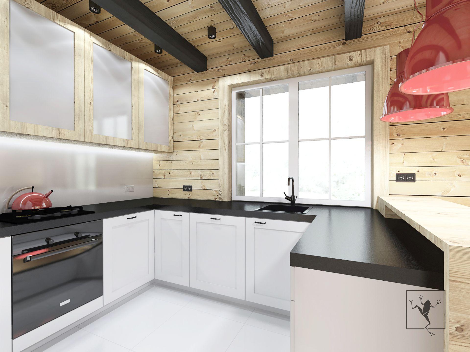 Projekt wn trza dom pod kielcami frog studio architekci for Frog studio