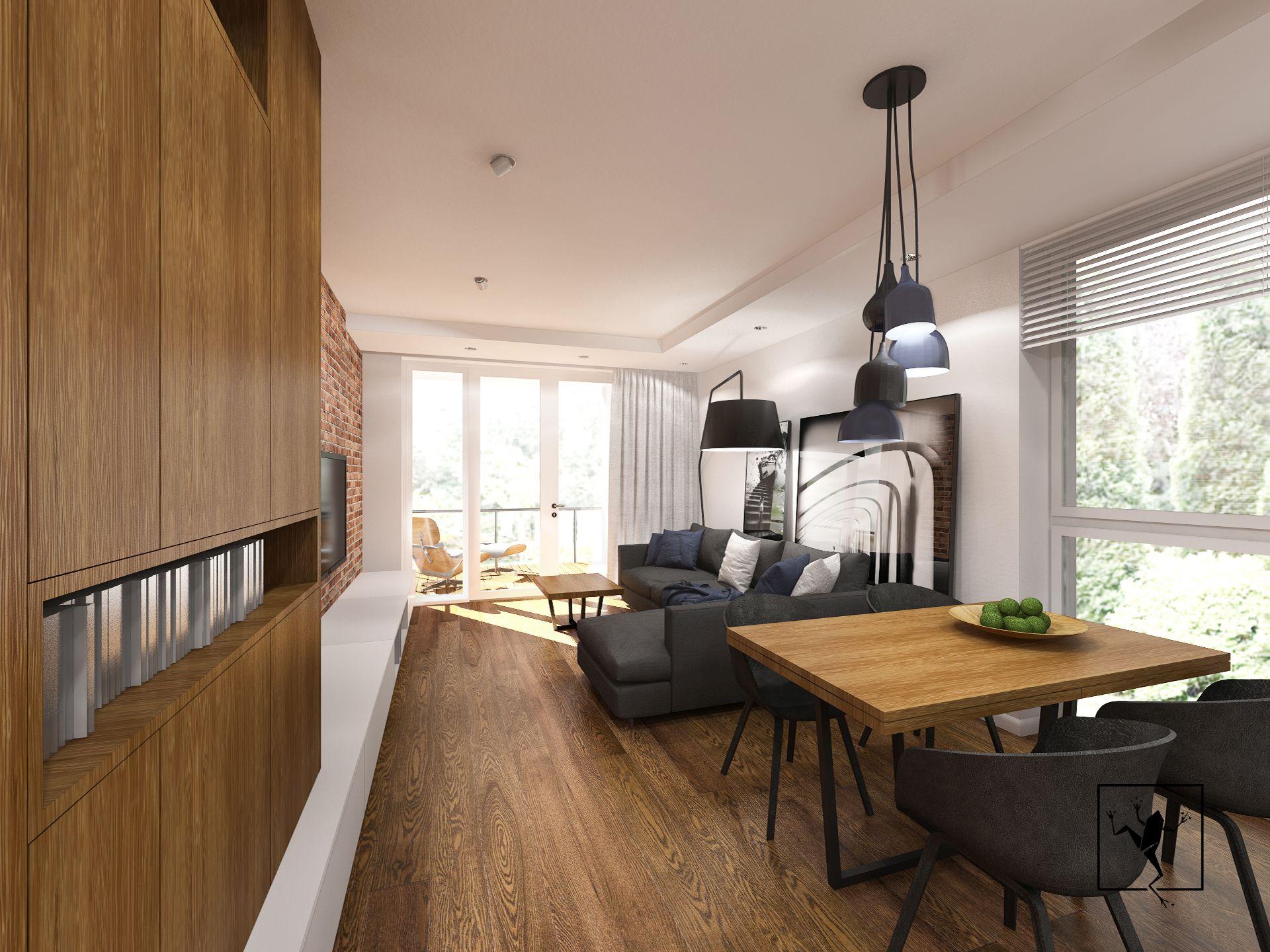 Projektowanie wnetrz kielce mieszkania domy frog studio for Frog studio
