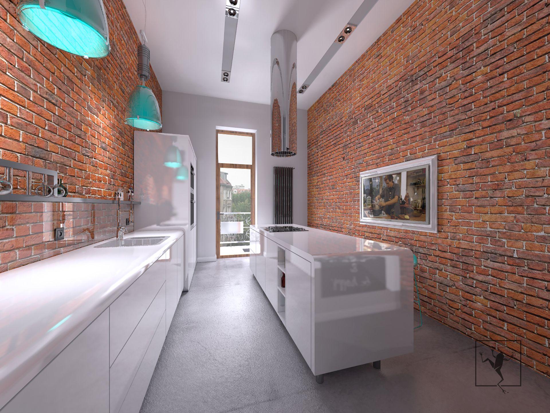 Projekt wn trza mieszkania w kamienicy zabrze frog for Frog studio