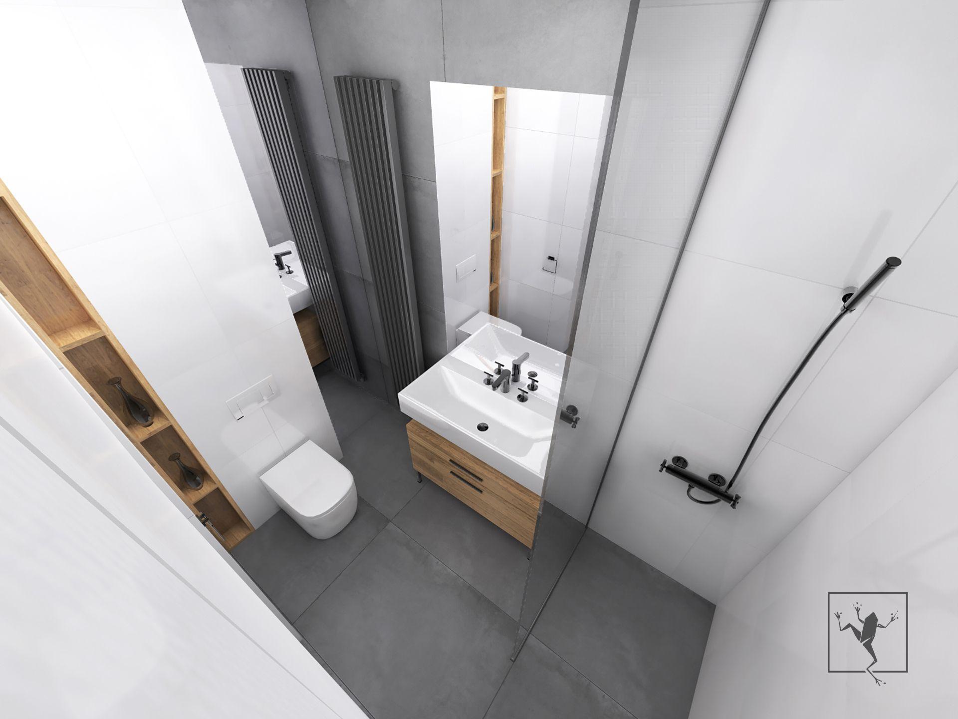 Projekt wn trza mieszkania zabrze modul 63 a frog studio for Frog studio
