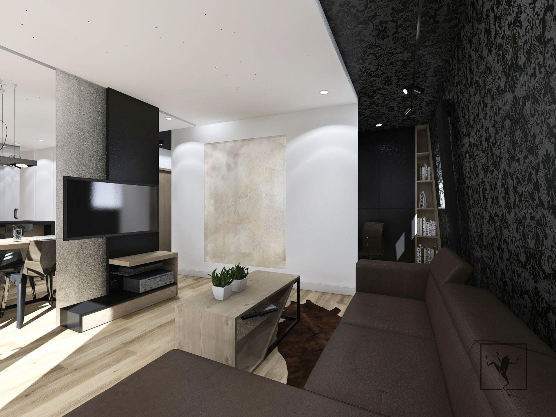 Projekt wn trza apartament kielce frog studio kielce for Frog studio