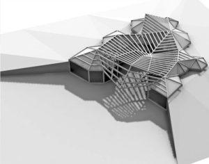 Architektura parametryczna | proj. Monika Szawioła | Kielce aranżacja wnętrz